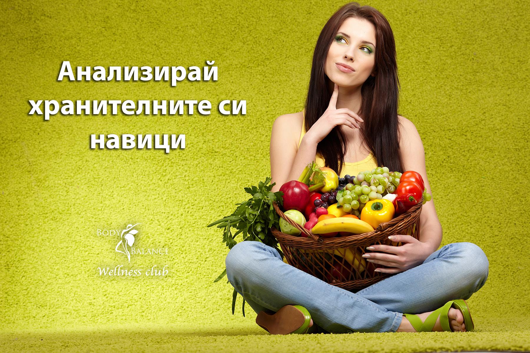 Анализирай хранителните си навици1